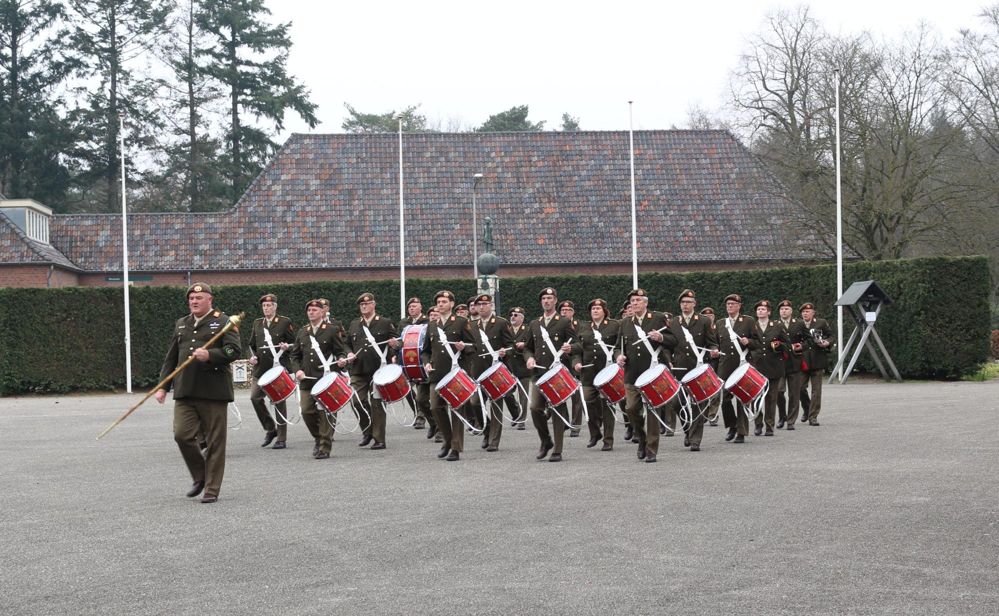 Traditioneel Tamboerkorps garde grenadiers
